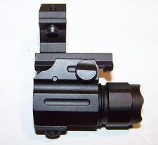 Tactical 330 Lumen Flashlight + Mount Fits 12 Gauge Remington 870 1100 1300