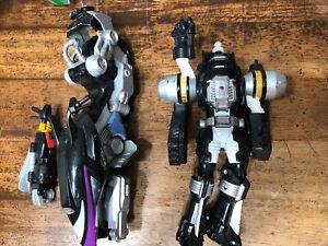 Power Rangers Operation Overdrive 2006 Helio Hovertek Motorcycle Black Ranger X