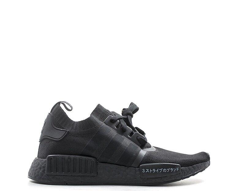 Scarpe  Adidas Man scarpe da ginnastica nero PU, Fabric BZ0220  rivenditori online