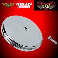 ARLEN NESS Smooth Steel Cover For Stage 1 Big Sucker Chrome 18-760