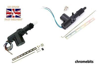 Central Locking Kit Set 4 Door 1 Master + 1 Slave Actuator Solenoid Motor Popper