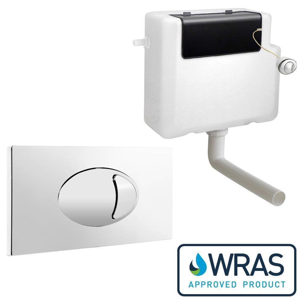push button toilet parts. Toilet Concealed Cistern Large Dual Flush Plate WC Push Button ABS Chrome  Finish eBay