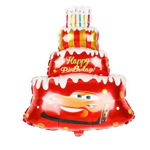 Folienballon Cars McQueen Kinder Geburtstag Geschenk Deko Kein Helium Ballon
