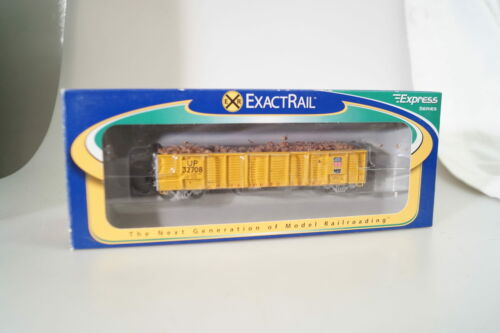 #32708 NUOVO H0 exactrail 1212 Union Pacific Boxcar breve