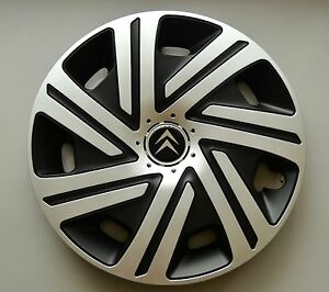 15 citroen c3 c4 c5 picasso berlingo wheel trims covers hub caps quantity 4. Black Bedroom Furniture Sets. Home Design Ideas