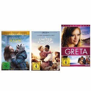 """""""Raum"""" UND """"A United Kingdom-Ihre Liebe veränderte die Welt"""" UND """"Greta"""" 3 DVD - Reichling, Deutschland - """"Raum"""" UND """"A United Kingdom-Ihre Liebe veränderte die Welt"""" UND """"Greta"""" 3 DVD - Reichling, Deutschland"""