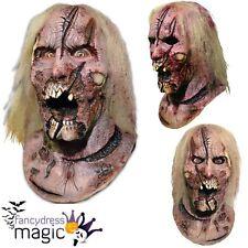 Official Walking Dead Deer Walker Zombie Latex Scary Horror Film Halloween Mask