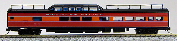 N Pass.  PS Corrugated Mid-Train Dome Car Southern Pacific (Daylight) (1-41541)