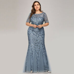 Details About Uk Ever Pretty Sequins Long Wedding Guest Dress Cocktail Evening Party Gown 7707