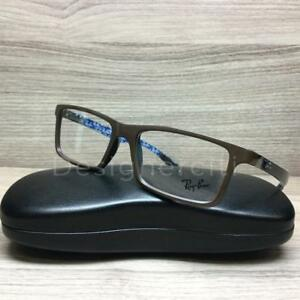 fefdfd1632 Ray Ban RB 8901 RB8901 Eyeglasses Brown Carbon Fiber 5612 Authentic ...
