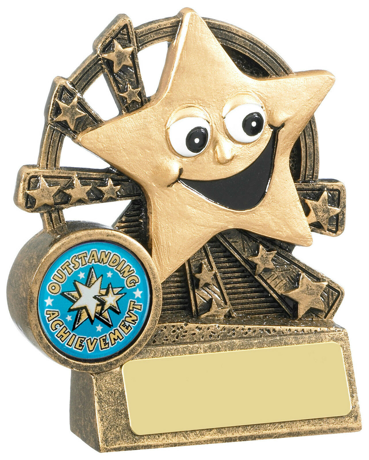 Star Award Star Trophy Free Engraving