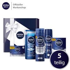 NIVEA MEN Geschenkbox Protect & Care 5tlg Creme Duschgel Rasierschaum Deo & mehr