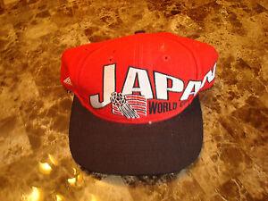 9fe2389fb11489 JAPAN WORLD CUP APEX-ONE SOCCER DEADSTOCK 90'S HAT CAP VINTAGE ...