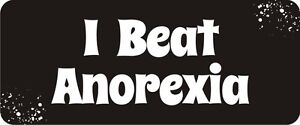 3-I-Beat-Anorexia-Hard-Hat-Biker-Helmet-Sticker-BS210
