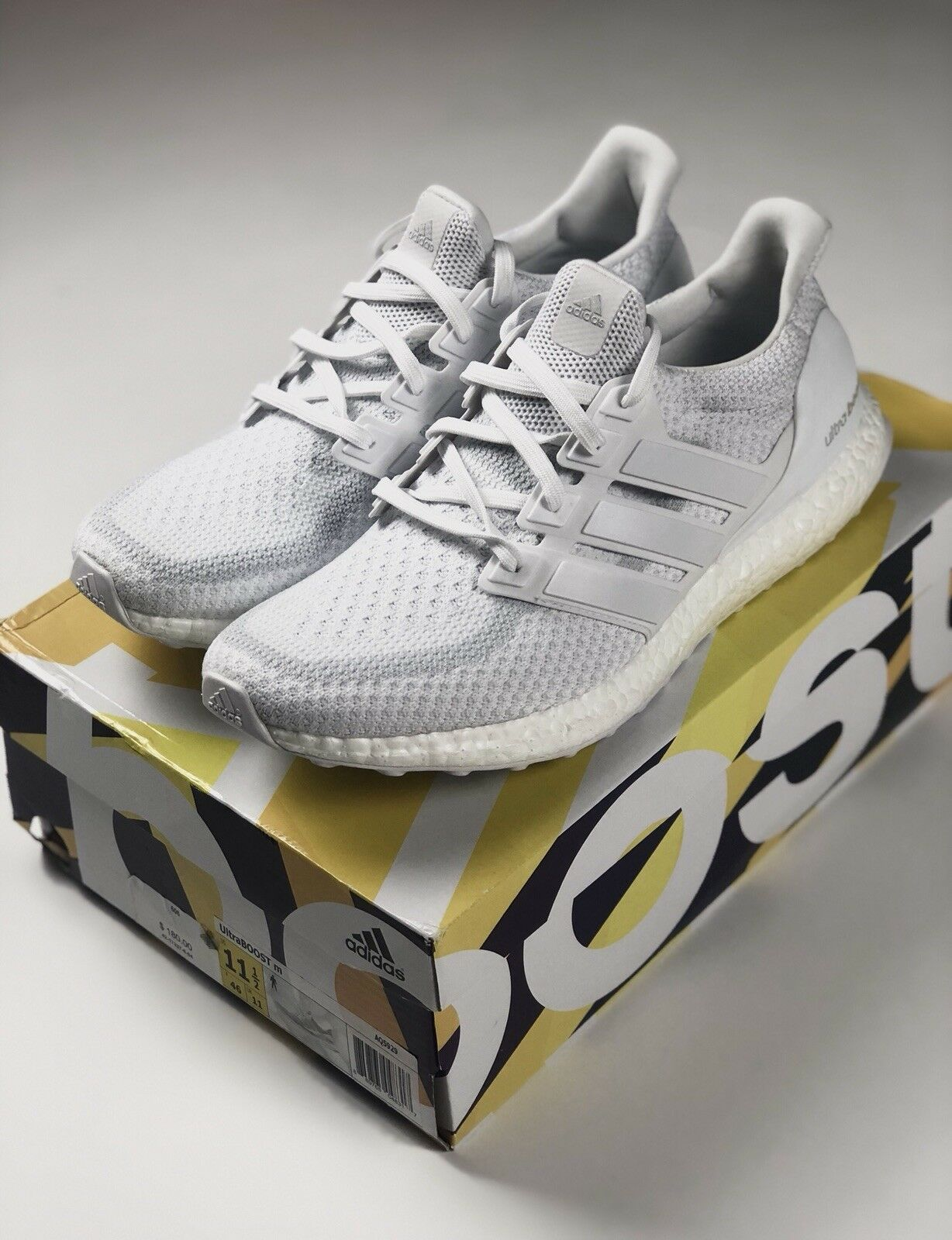 11 UK 2.0 Boost Ultra Adidas nos blancooo Ds Nuevo 11.5