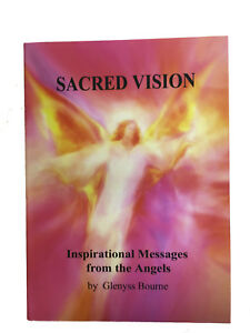 SACRED-VISION-Angelic-Guidance-Book-with-82-Stunning-Paintings-by-Glenyss-Bourne