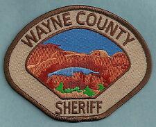 WAYNE COUNTY SHERIFF UTAH POLICE PATCH