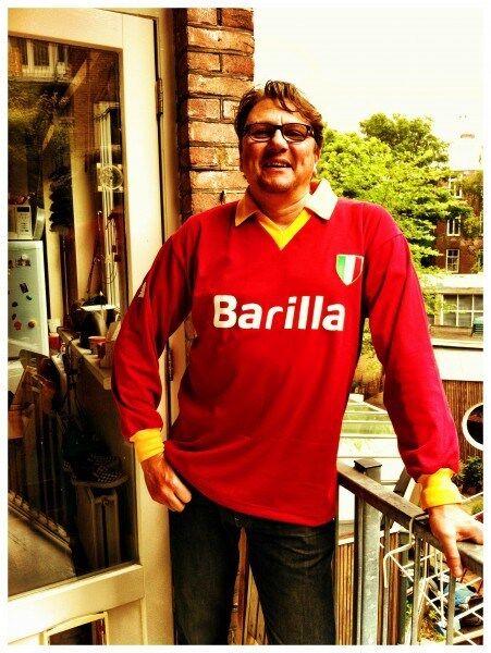 Vintage Toffs Barilla ROME 1983-1984 RETRO FOOTBALL SHIRT size S
