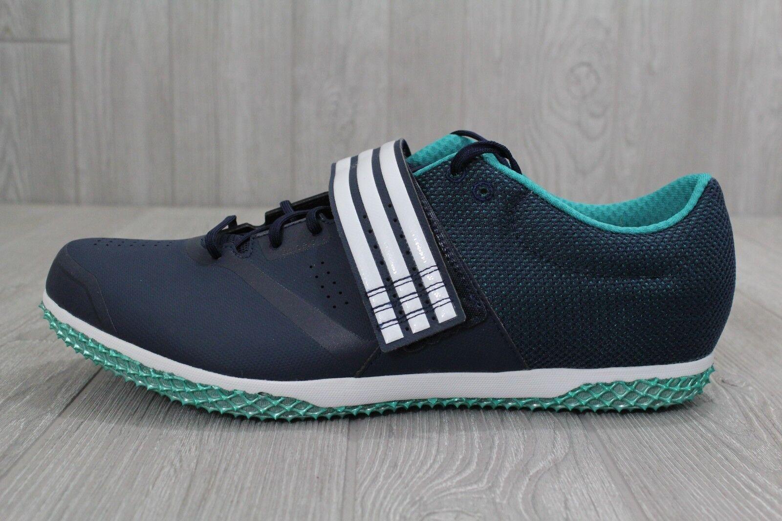 26 nuovi Uomo uomini adidas adizero hj Uomo nuovi 5,5 - 14 campo di atletica scarpe blu af5645 8656c8