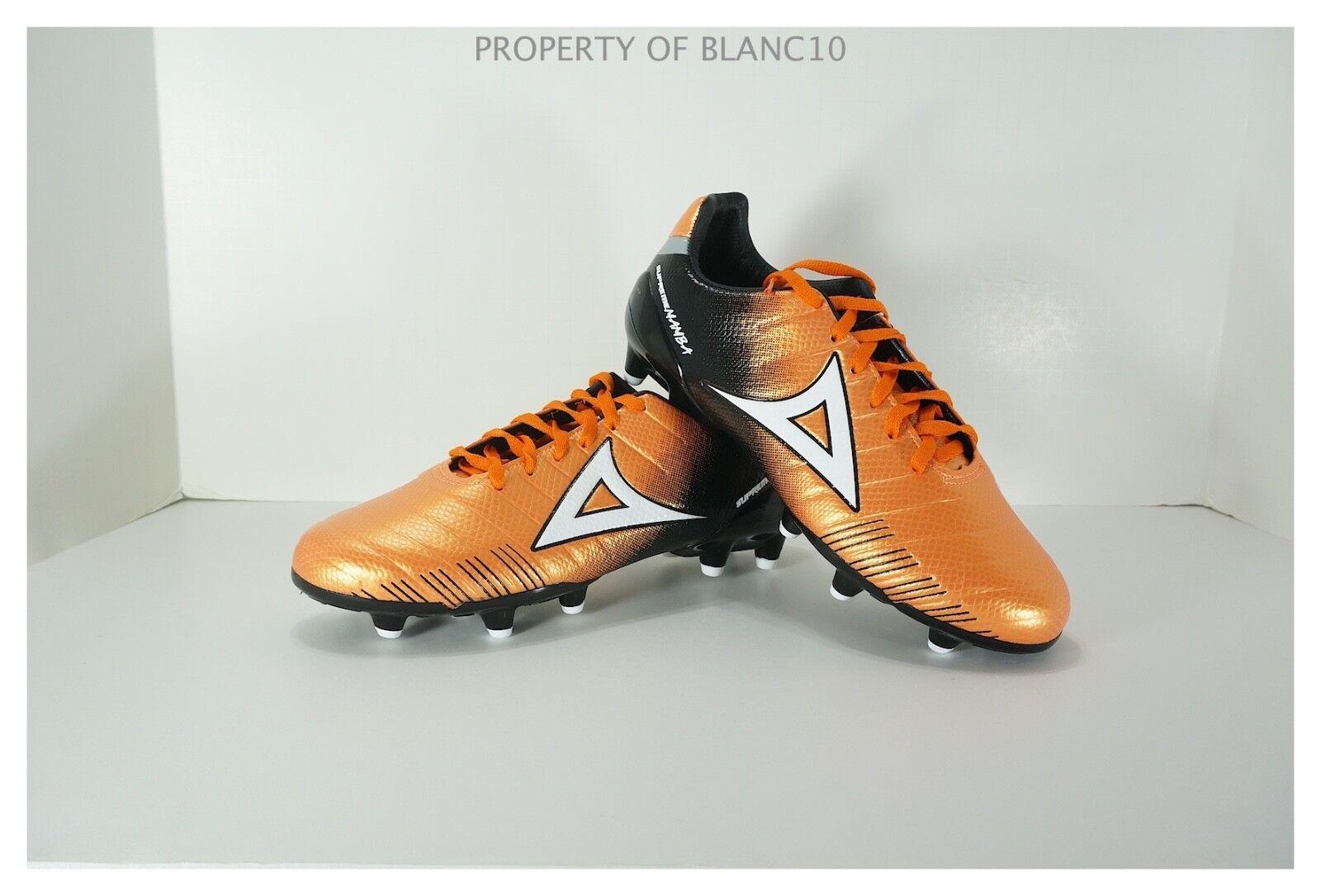 Pirma Soccer Crampons-style 179-Orange noir-Suprême Mamba