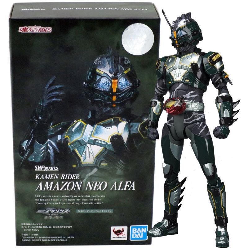 Bandai Tamashii Limitada S.H. Figuarts Kamen Rider Amazon Neo Alfa Figura De Acción