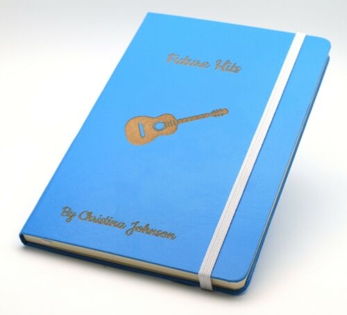 Personalized Custom Hardcover NotebookDesign A Unique JournalEngraved Gift
