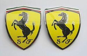 SCUDERIA-FERRARI-WING-SHIELDS-BADGES-488-458-430-360-355-348-F12-550-599-328-612