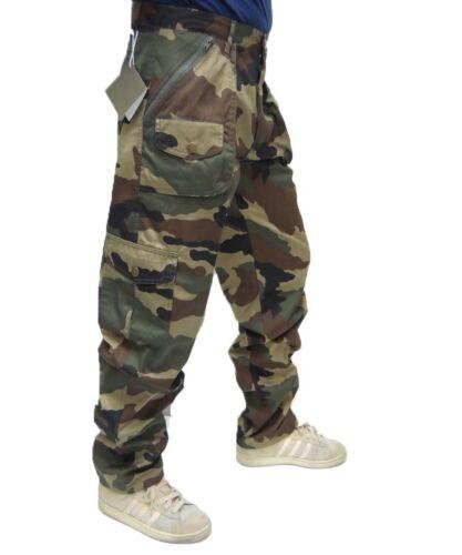 Pantalone caccia mimetico camo cargo lavoro combattimento combat militare