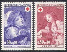 France 1971 Red Cross/Child/Dog/Medical 2v set (n20403)