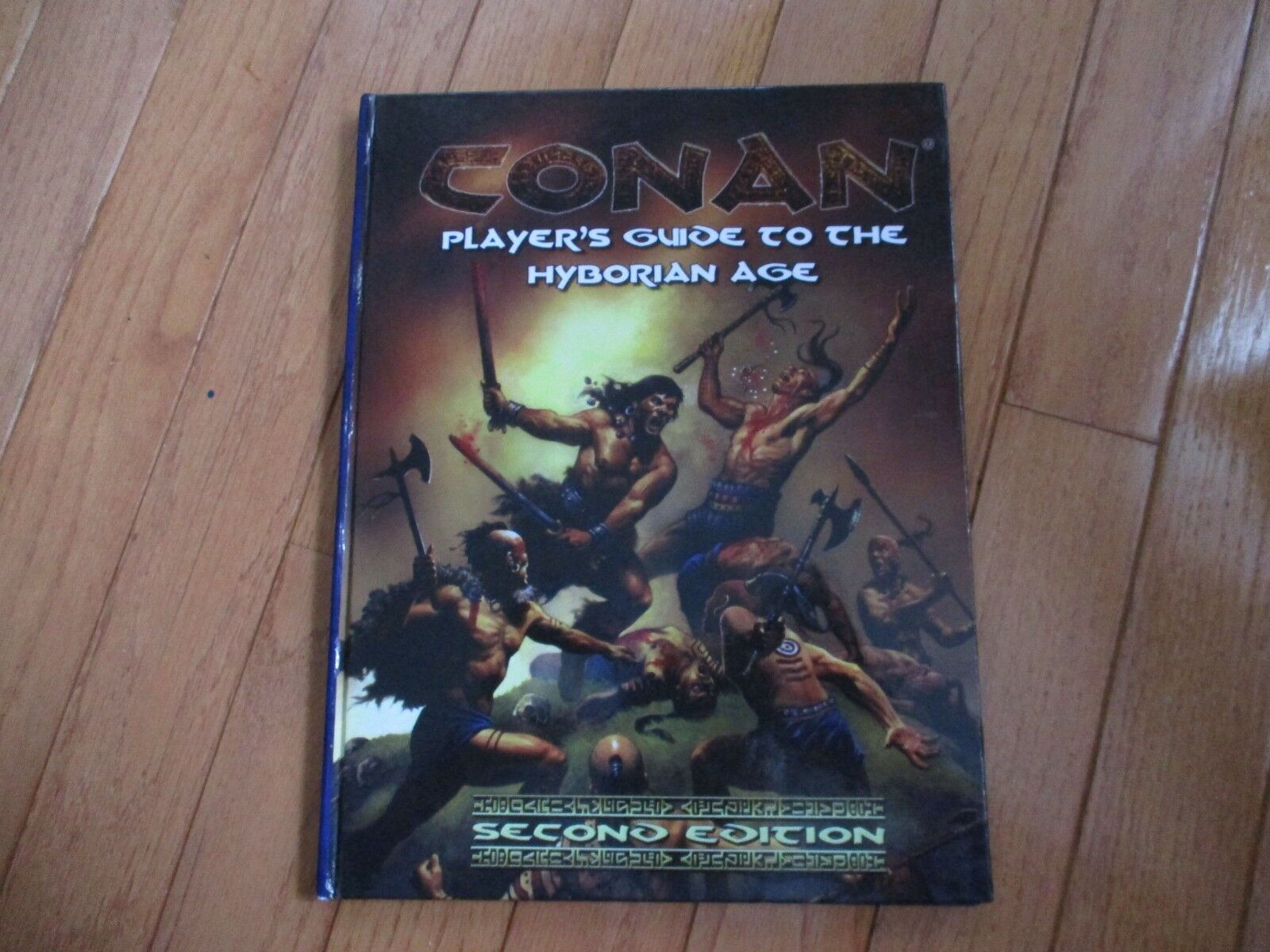 D &D D20 Mongo Conan RPG spelaer s Guide to the Hyborian Age 2nd Edition HC