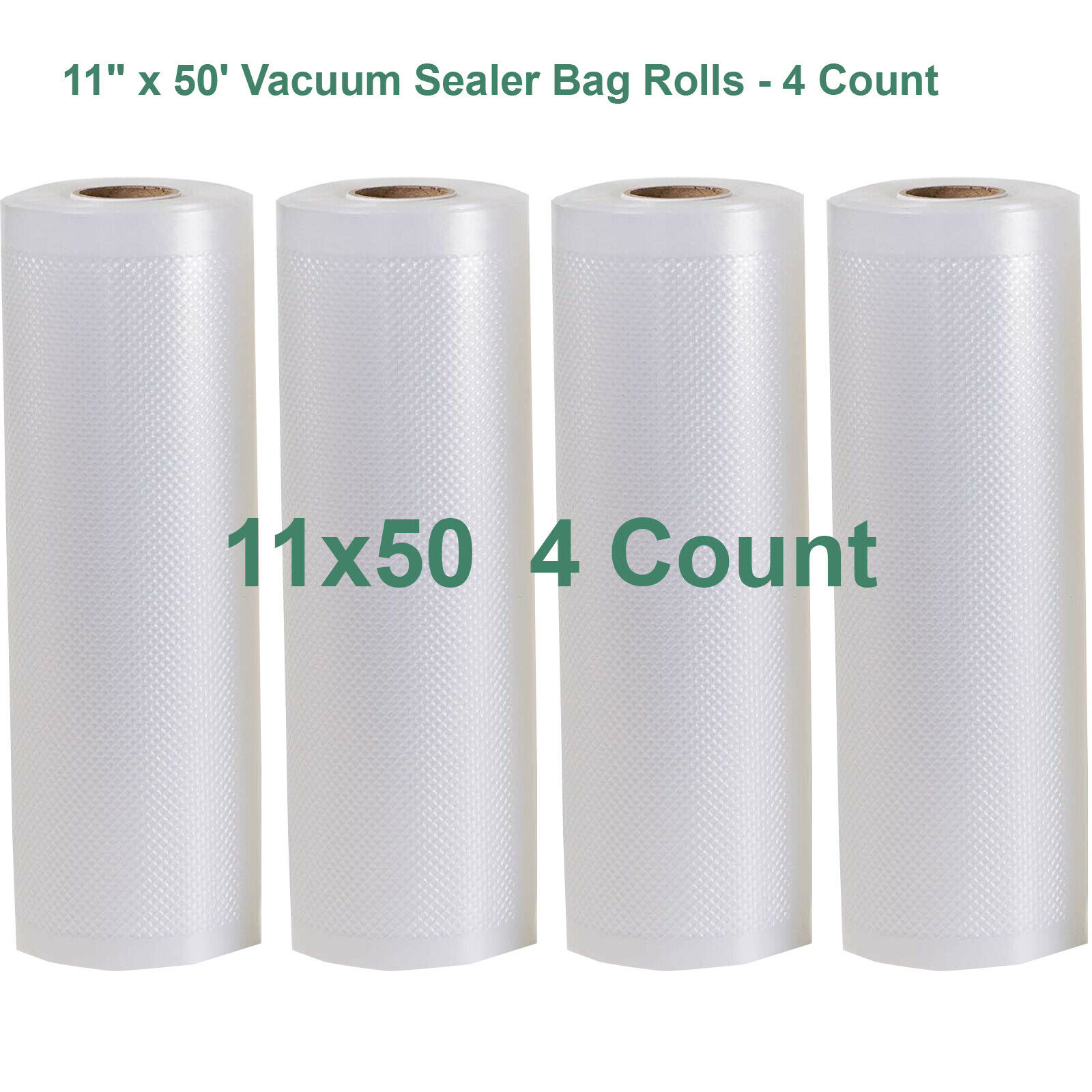 Wes Gamesaver Seal a Meal Vacuum Sealer Bags 8x50 Rolls 2 pack for Food Saver