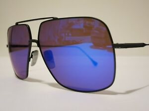 de0c69b3bb24 DITA FLIGHT 005 7805C Matte Black Blue Optique Glasses Eyewear ...