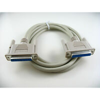 15ft Rs232 D-sub Db25 Female To Female Serial Data / Modem Cable
