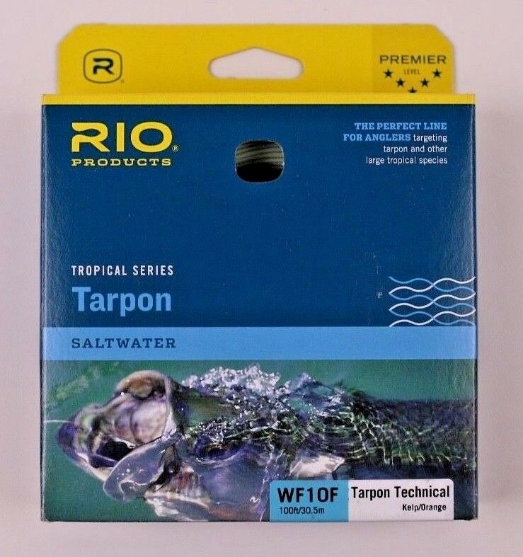 Rio Tarpon WF10F Fly Line Kelp orange Free Expedited Shipping 6-20586
