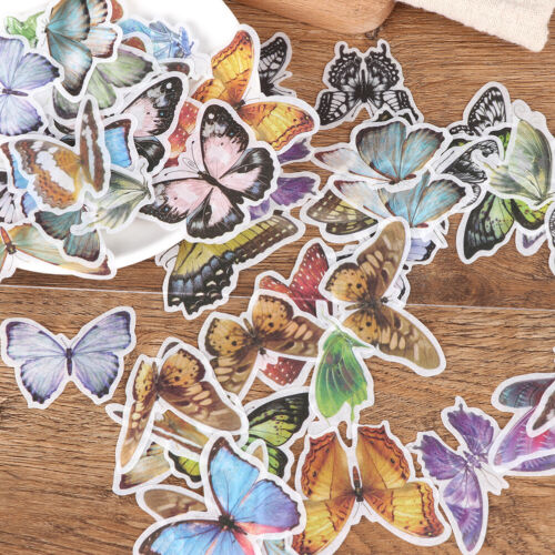60Pcs Various Flower Plants Paper Stickers Album Diary Decor DIY Scrapbooking PL