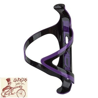 SUPACAZ FLY CAGE ALLOY PURPLE WATER BOTTLE CAGE