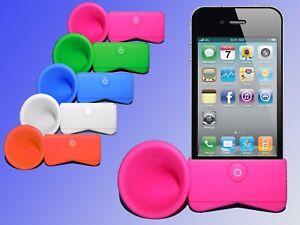 iPhone-4-Handy-Halter-Lautsprecher-Smartphone-Handy-Staender-Ablage-Halterung