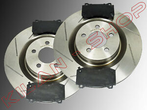 2 disques de frein 360mm c ramique plaquettes avant chrysler 300c srt8 2005 ebay. Black Bedroom Furniture Sets. Home Design Ideas