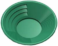 Se Gp1014g14 14 Green Plastic Gold Pan With Two Types Of Riffles, New, Free Shi on sale