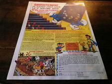 PEYO - Publicité de magazine / Advert !!! SCHTROUMPFS - JOHAN & PIRLOUIT !!!