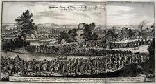 Marie-Thérèse Entrée solonnelle dans Paris Einzug 1660 Louis XIV Matthäus Merian
