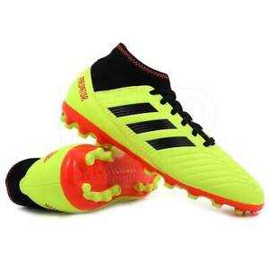 Details about Football Shoes Adidas Predator 18.3 Ag Jr CG6359 Boy Child Fluorescent Yellow