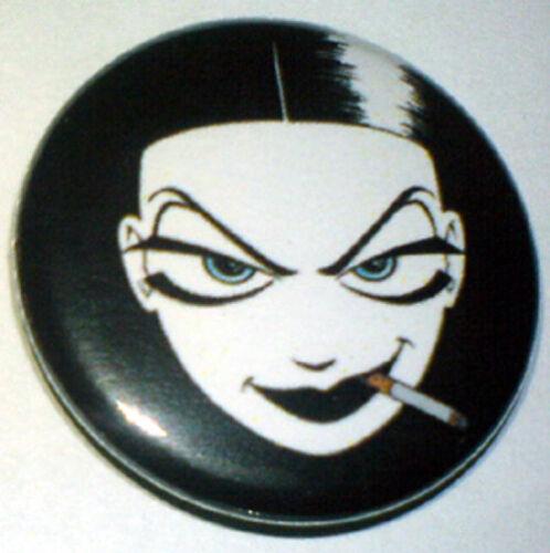 25mm Pin Badge NEMI 1 Goth Nemi