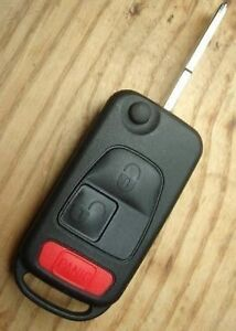 Details about Chrysler Crossfire 2004 - 2008 FLIP KEY KEYLESS FOB CASE  SHELL AND BLADE
