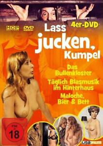 4-DVDs-LASS-JUCKEN-KUMPEL-4-TEILE-KULT-FSK-18-NEU-OVP