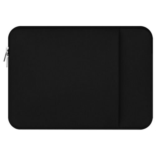 "15/"" 15.6/"" Black Laptop Sleeve Case Bag Cover For Macbook HP DELL Acer Samsung"