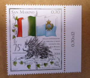 2014-SAN-MARINO-amp-ITALY-70-MINT-STAMP-MNH