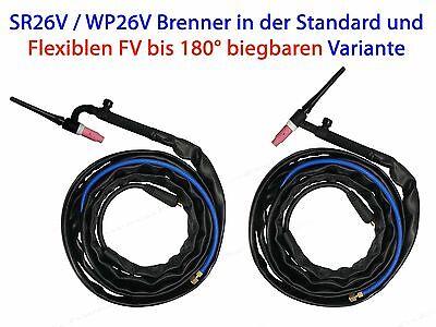 WIG Schlauchpaket SR 26V Schweiss-Inverter Schweissbrenner SR26V Brenner SR26V