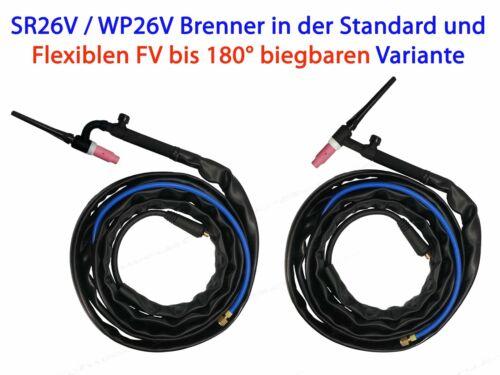 Wig hose package SR 26v Welding Inverter Welding Torch sr26v Burner sr26 V
