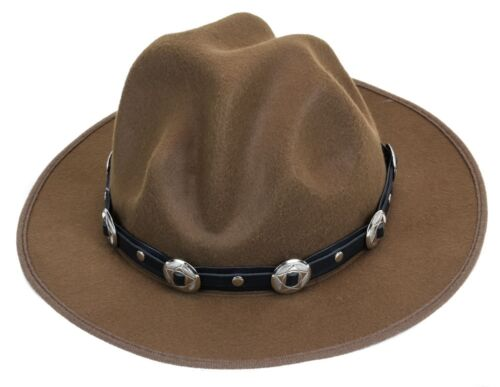 Concho Happy Hat Style Wool Costume Party Halloween Pharrell Williams Style